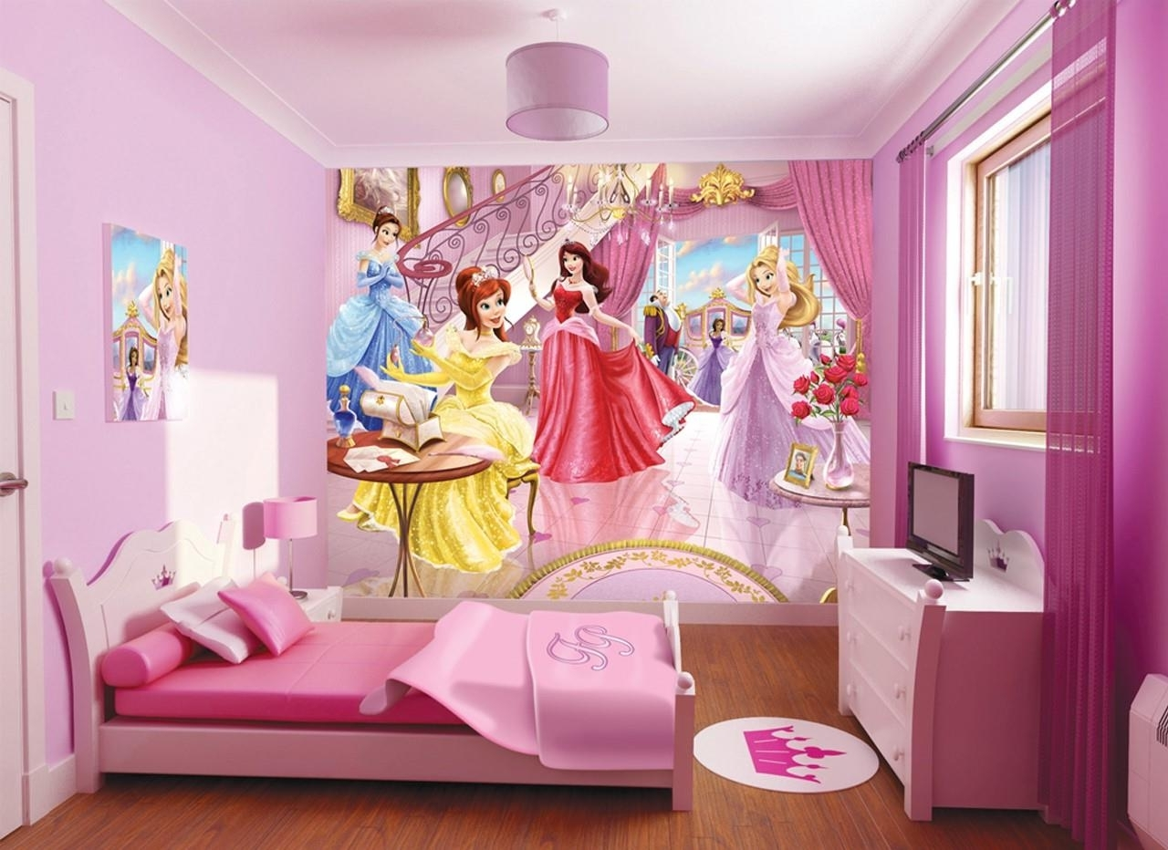 Pink And Purple Girls Room Ideas #10778 Intended For Girls Room (View 21 of 24)