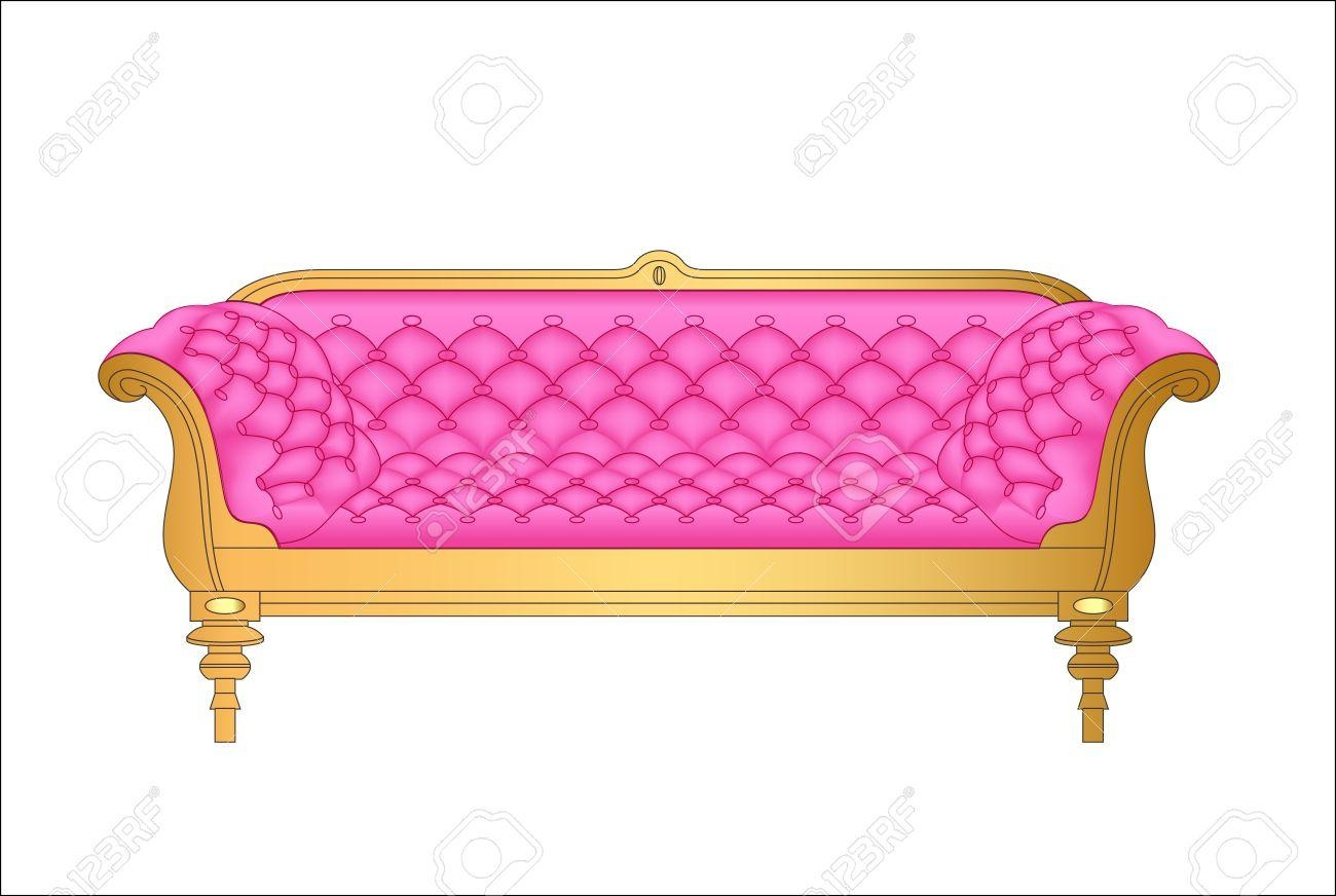 Pink Retro Sofa Images & Stock Pictures (Image 15 of 20)