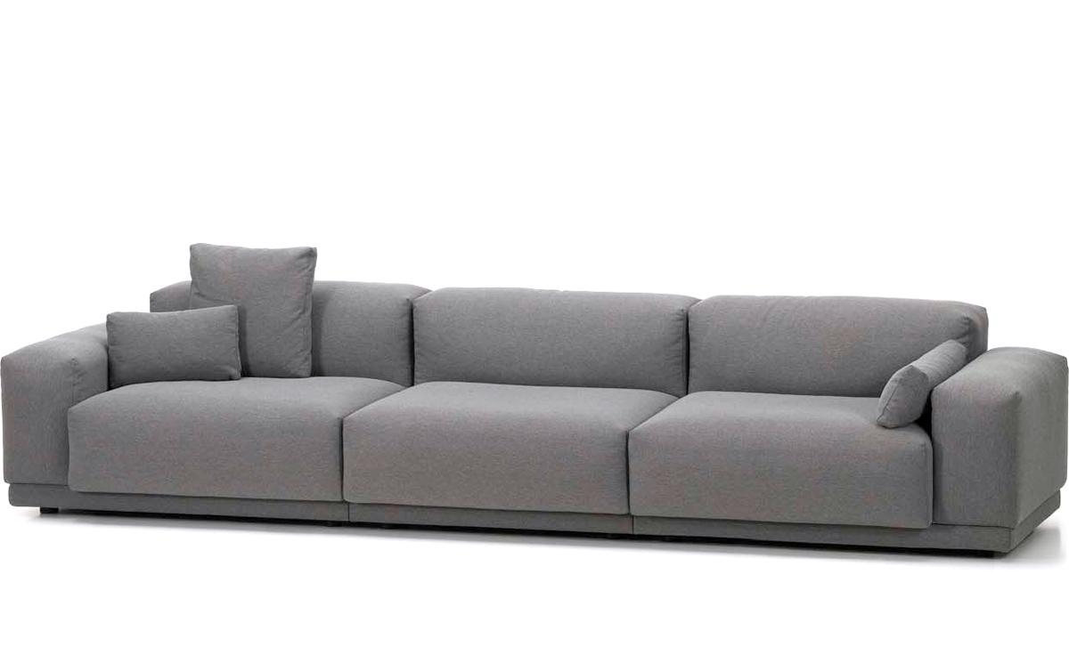 Place 3 Seat Sofa – Hivemodern In Three Seater Sofas (View 2 of 20)