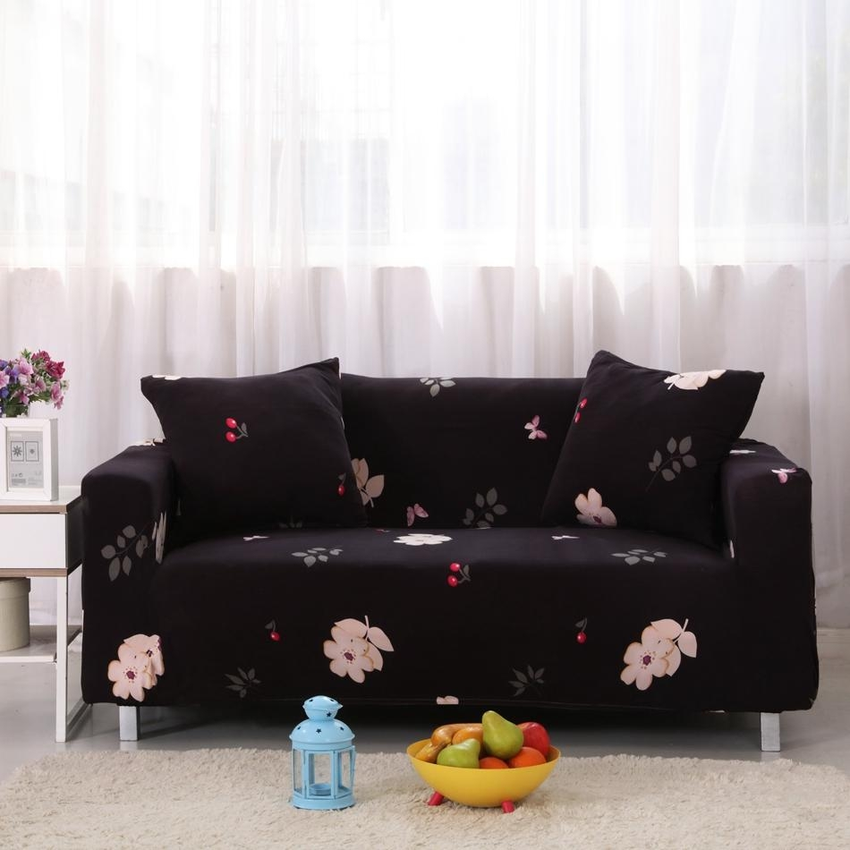 Popular Black Cover Sofa Buy Cheap Black Cover Sofa Lots From With Sofas With Black Cover (Photo 14 of 20)