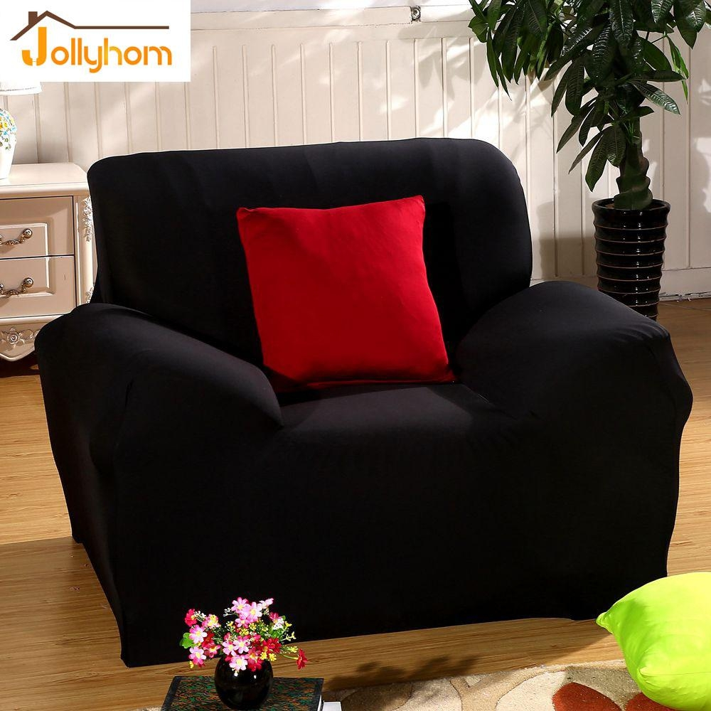 Popular Black Sofa Slipcover Buy Cheap Black Sofa Slipcover Lots Intended For Black Sofa Slipcovers (Image 19 of 20)