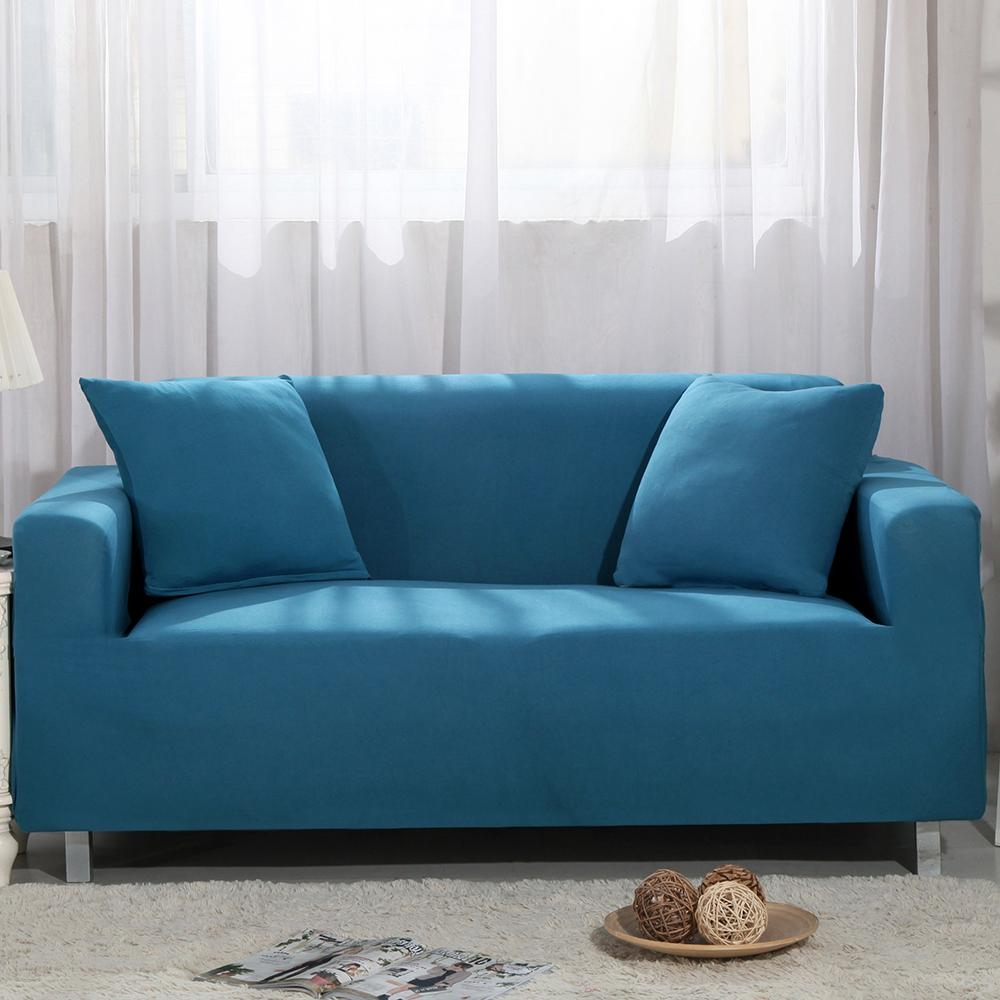 Popular Colorful Sofa Covers Buy Cheap Colorful Sofa Covers Lots Pertaining To Blue Sofa Slipcovers (Image 14 of 20)