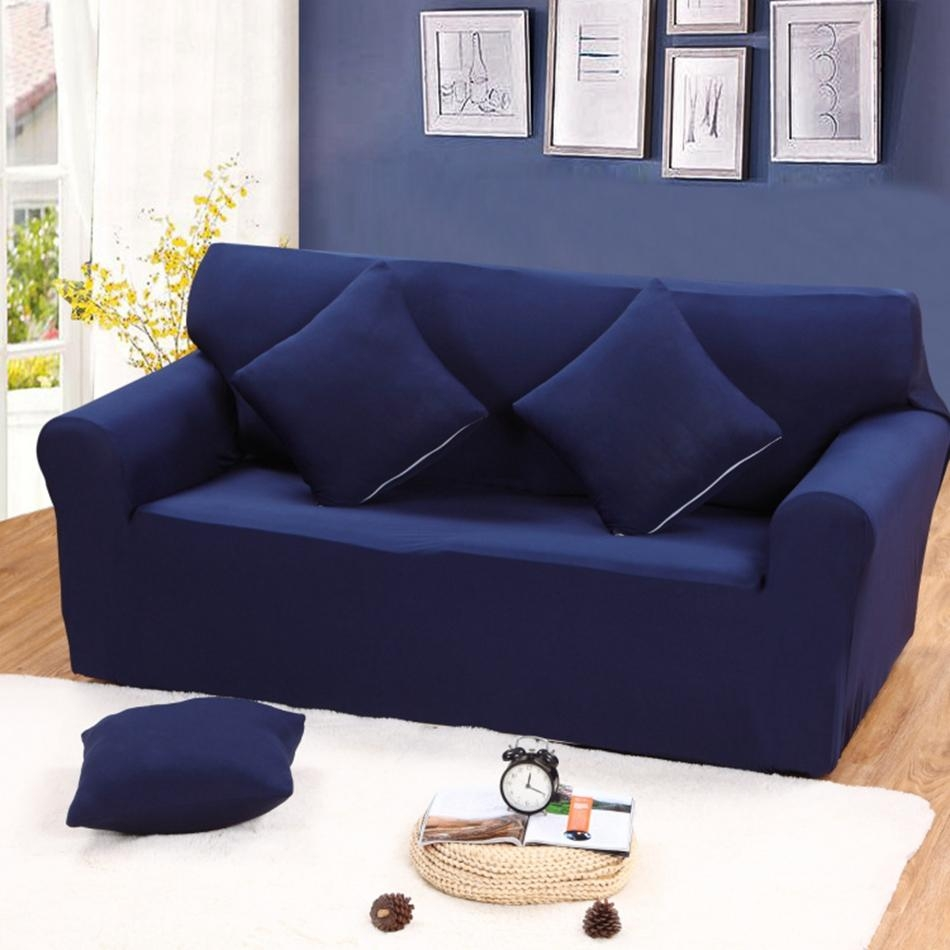 Popular Colorful Sofa Covers Buy Cheap Colorful Sofa Covers Lots With Regard To Blue Sofa Slipcovers (Image 15 of 20)