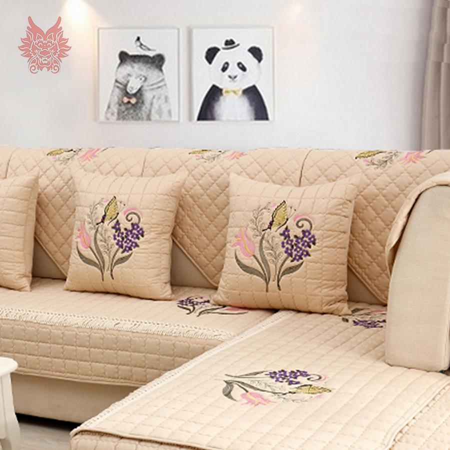 Popular Floral Couch Buy Cheap Floral Couch Lots From China Floral With Regard To Floral Slipcovers (View 11 of 20)