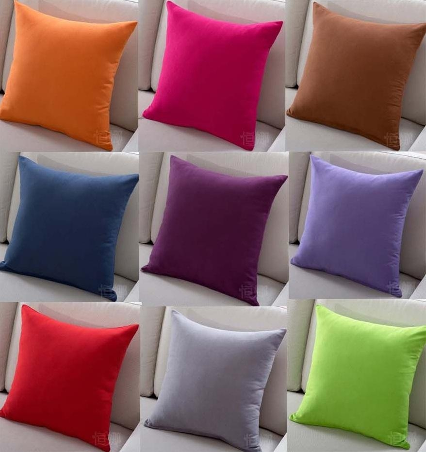 Popular Orange Sofa Covers Buy Cheap Orange Sofa Covers Lots From For Sofa Cushion Covers (Photo 1 of 20)