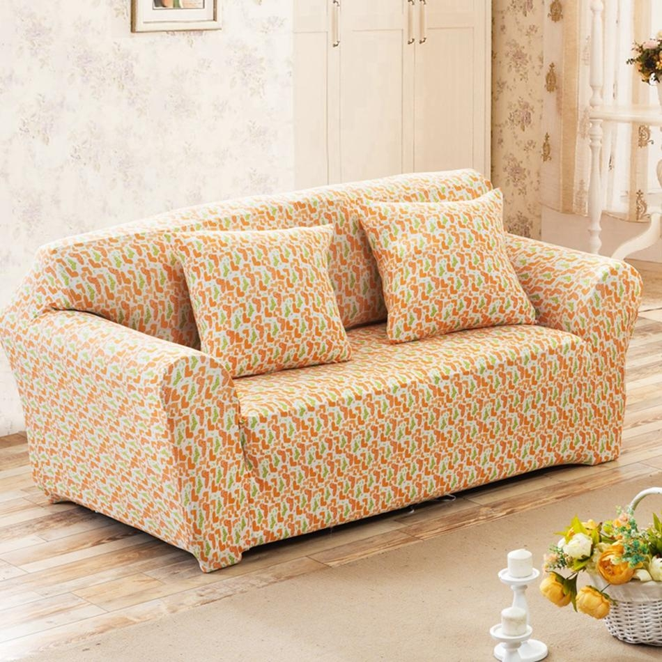 Popular Patterned Couches Buy Cheap Patterned Couches Lots From Intended For Patterned Sofa Slipcovers (View 14 of 20)