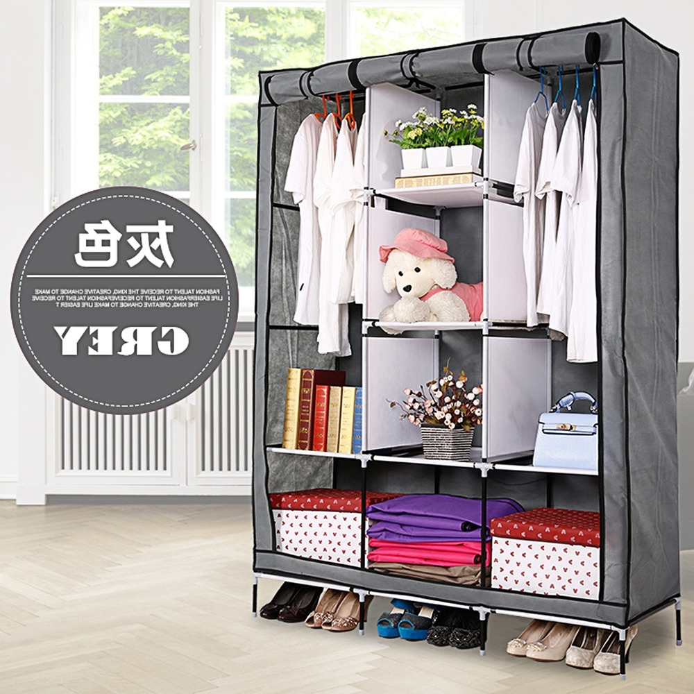 Popular Portable Wardrobe Closet Buy Cheap Portable Wardrobe Intended For On The Go With A Portable Wardrobe Closet (Image 13 of 27)