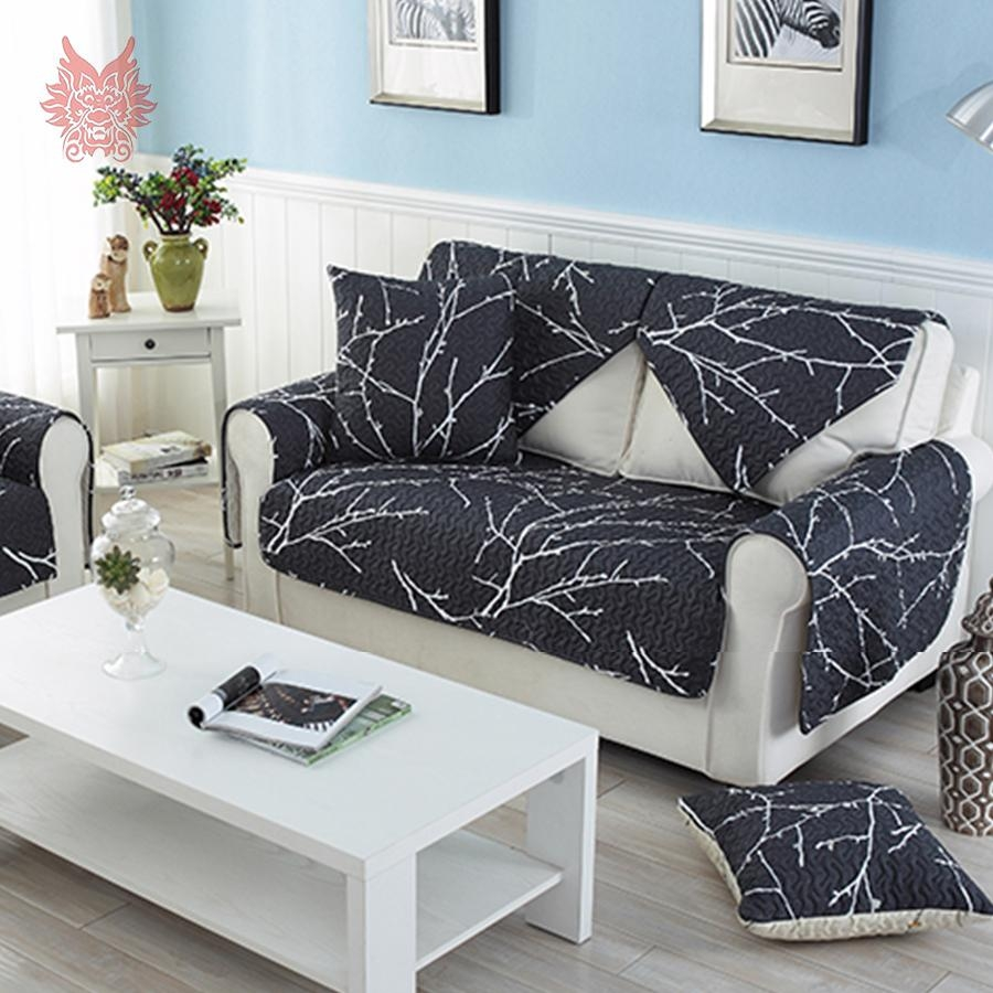 Popular Sofa Cover Black Buy Cheap Sofa Cover Black Lots From For Sofas With Black Cover (View 3 of 20)