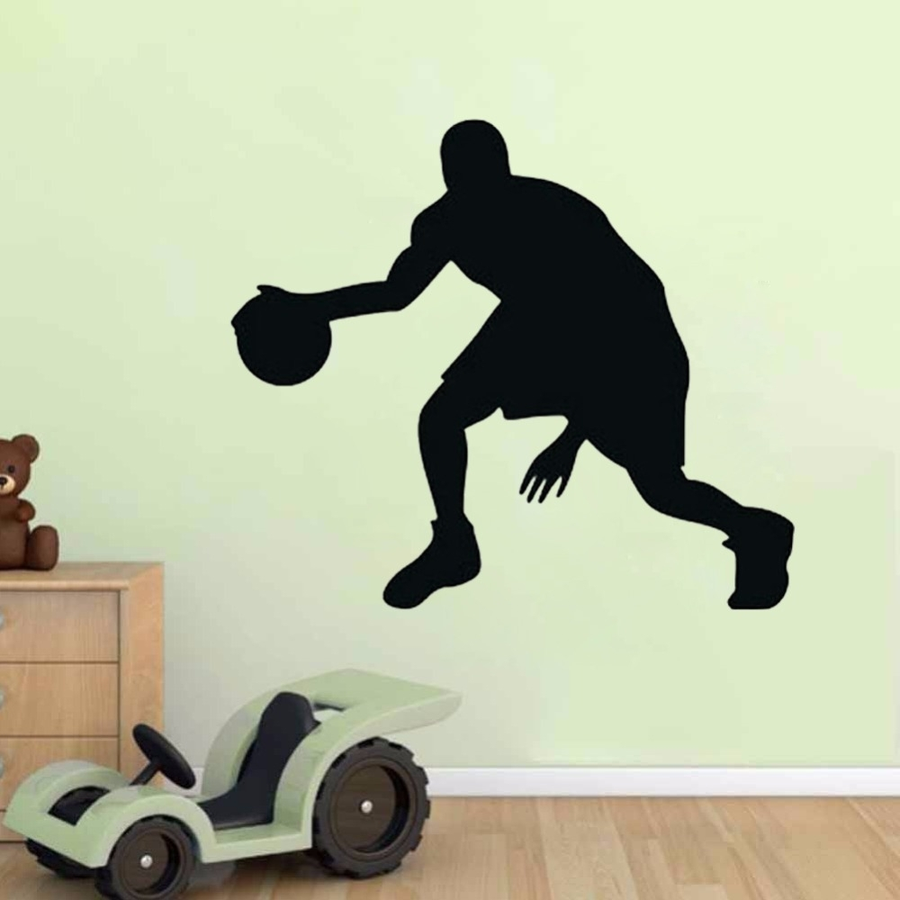 Popular Sports Wall Decals Buy Cheap Sports Wall Decals Lots From With Sports Wall Decals Bring Inspiration To Your Boy's Bedroom (View 3 of 9)