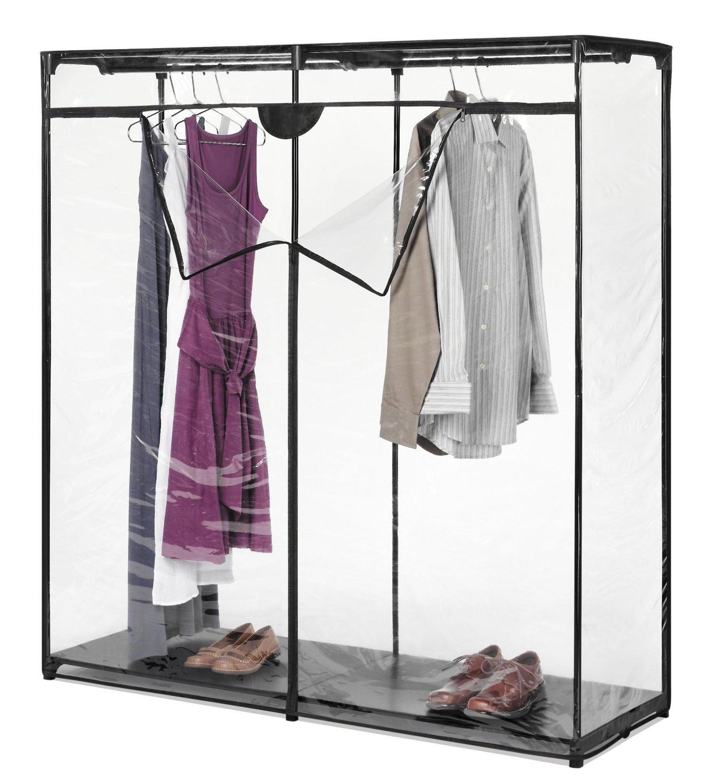 Portable Canvas Closet Wardrobe : The Great Benefits From Portable Intended For Portable Wardrobe Closet (Image 16 of 27)