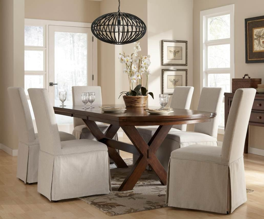 Pottery Barn Dining Room Chair Slipcovers – Alliancemv Regarding Pottery Barn Chair Slipcovers (Image 15 of 20)
