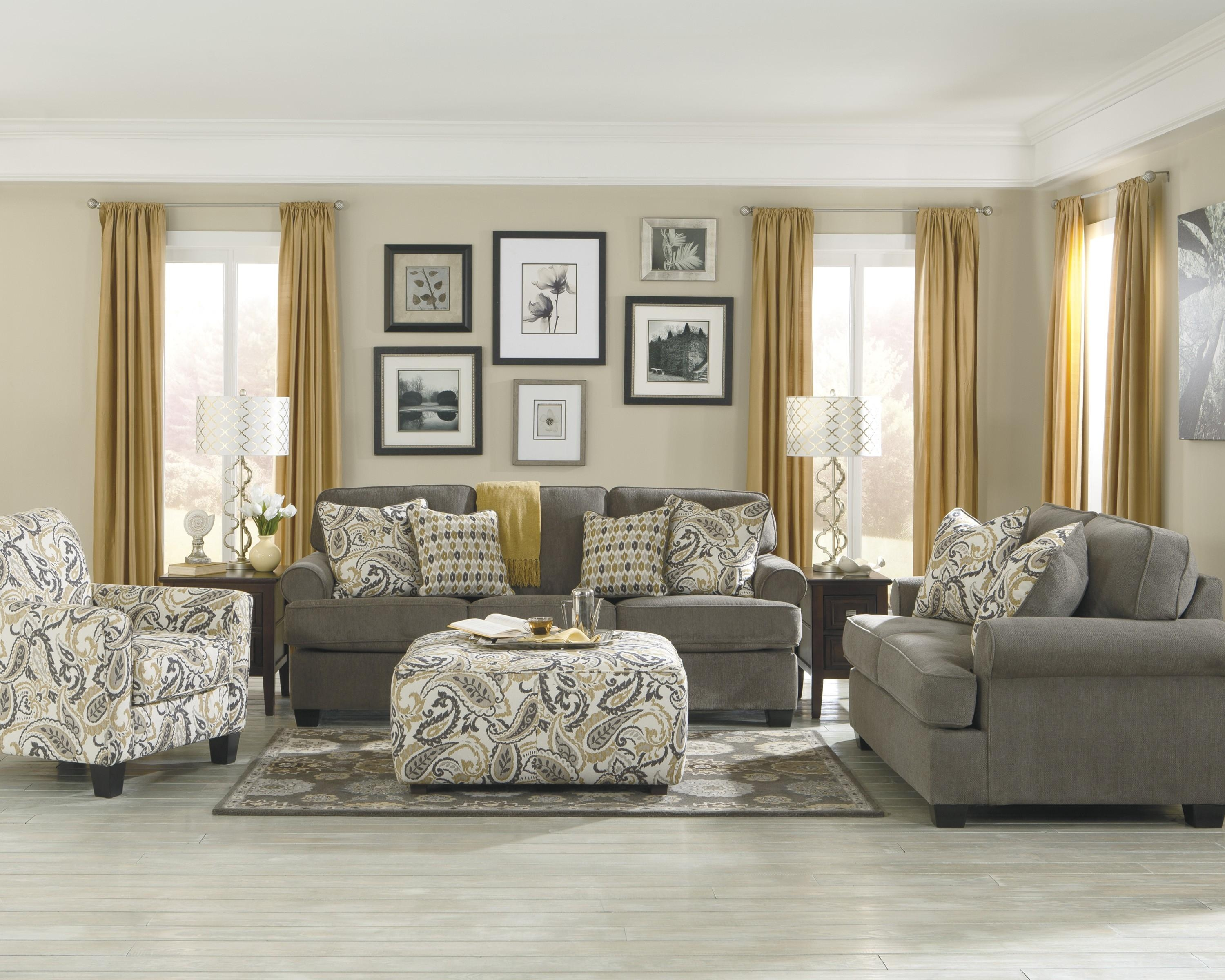 Projects Idea Of Ashley Living Room Furniture | All Dining Room Regarding Living Room Sofa Chairs (View 2 of 20)