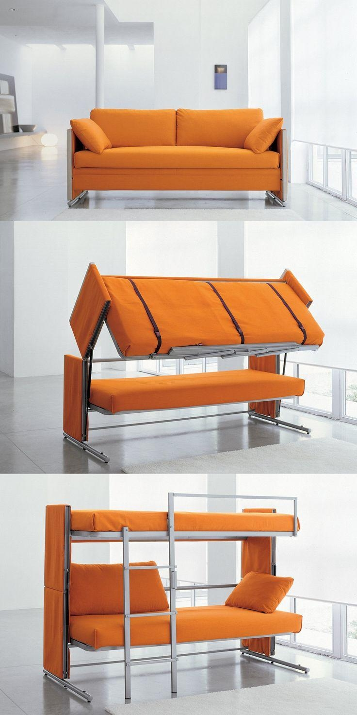 Pull Out Bunk Bed Couch | Arlene Designs With Sofas Converts To Bunk Bed (Image 18 of 20)