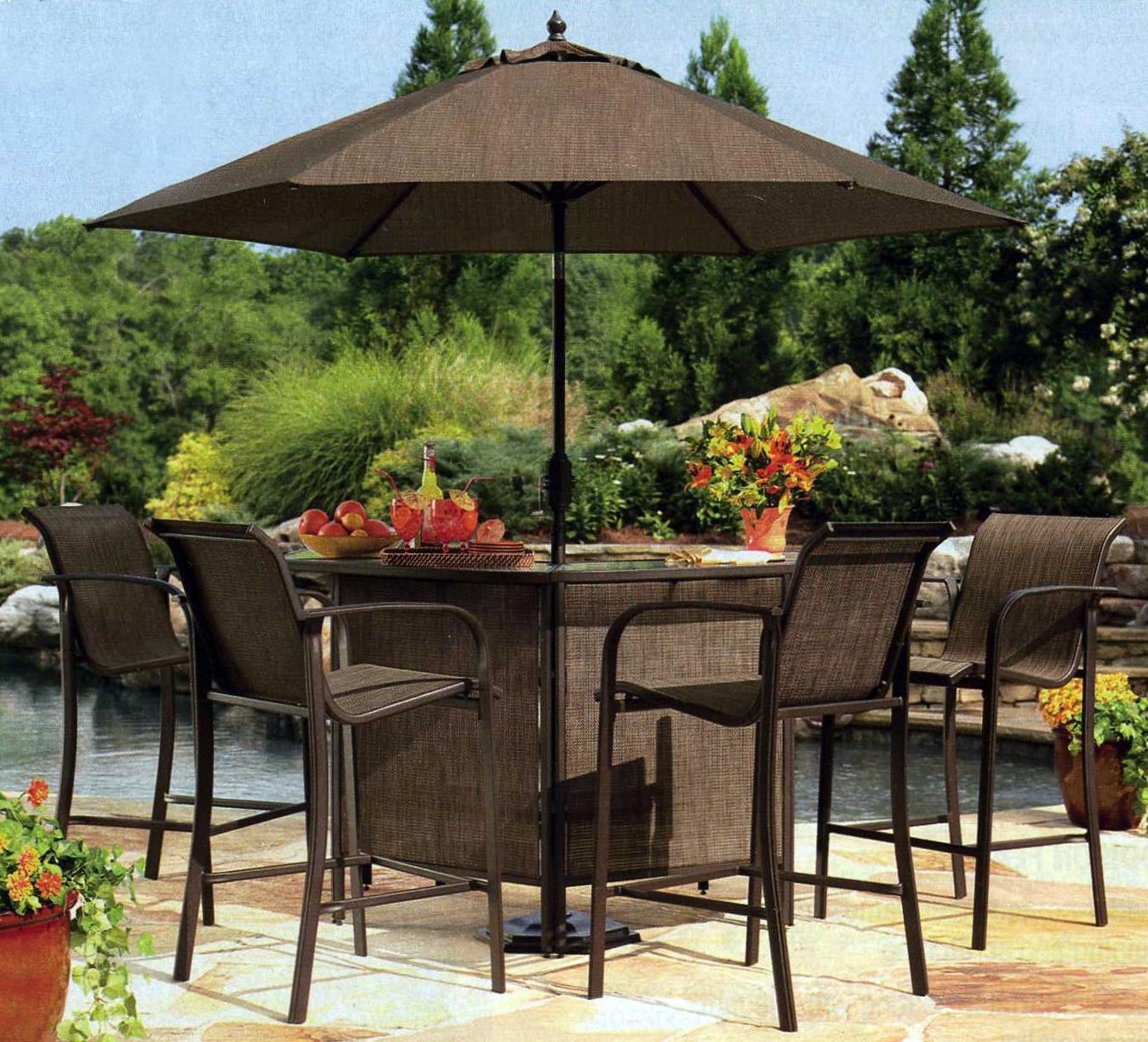 Purchase Outdoor Bar Sets With Canopy For Refreshing Outdoor Intended For Outdoor Sofas With Canopy (Image 19 of 20)