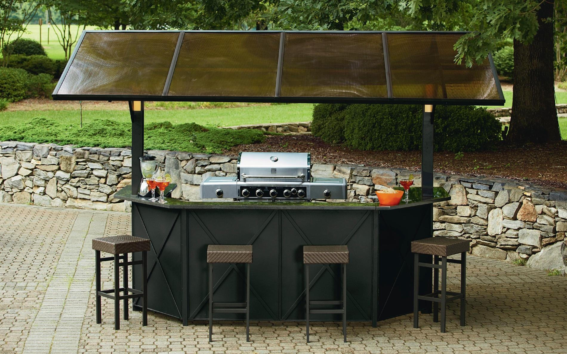 Purchase Outdoor Bar Sets With Canopy For Refreshing Outdoor With Regard To Outdoor Sofas With Canopy (Image 20 of 20)