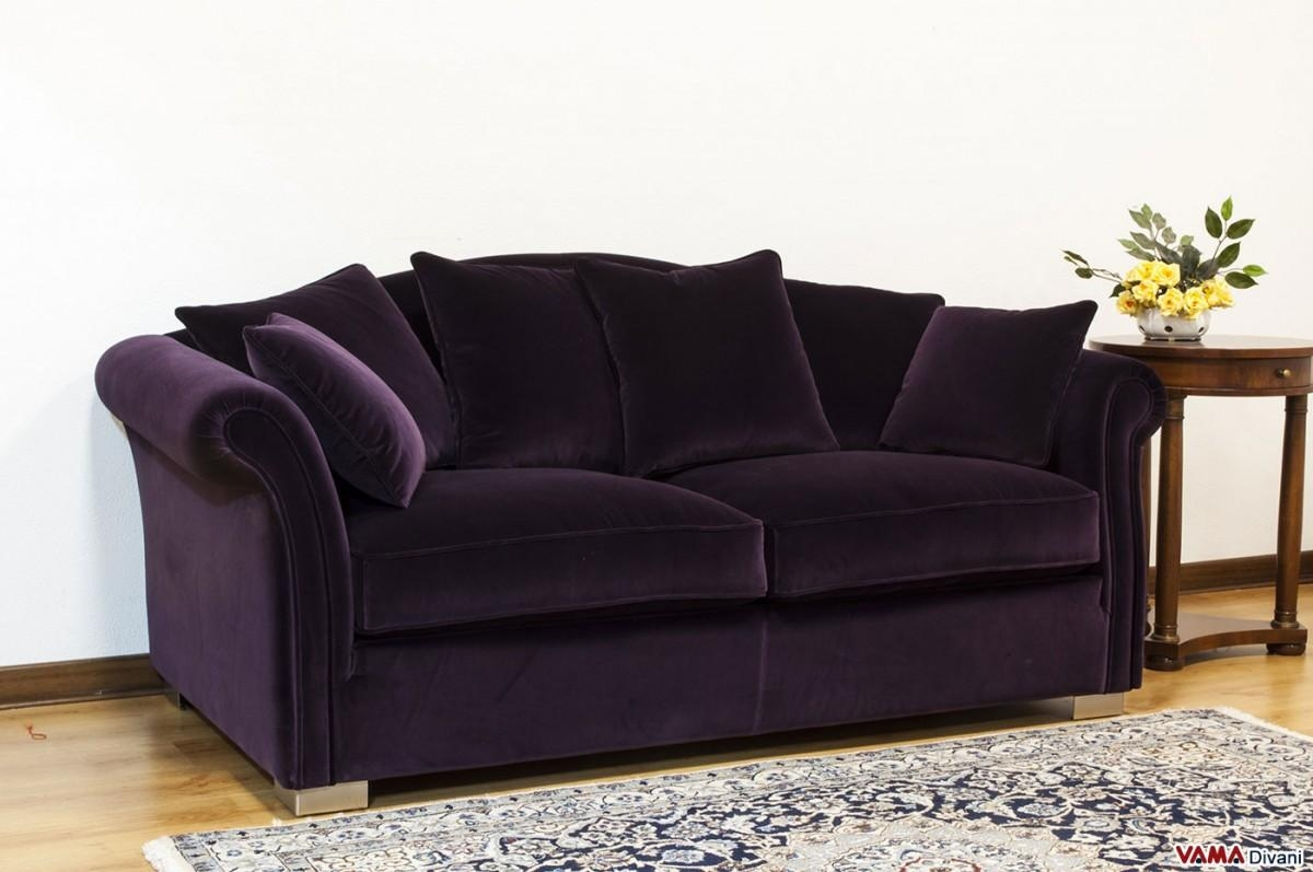 20 Inspirations Velvet Purple Sofas Sofa Ideas