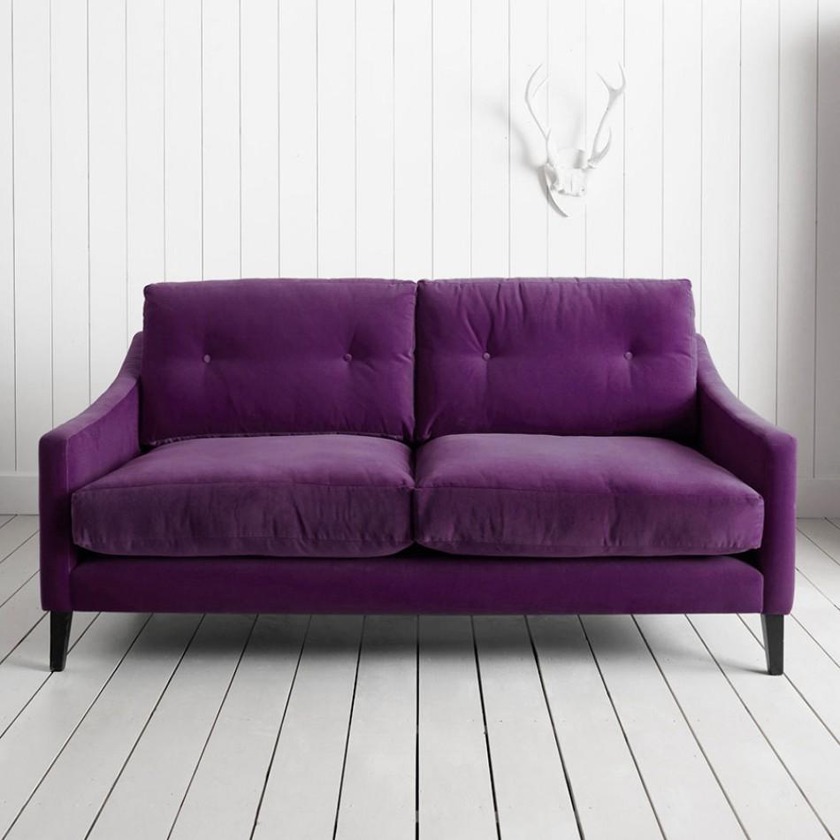 Purple Velvet Sleeper Sofa | Tehranmix Decoration Inside Velvet Purple Sofas (View 4 of 20)