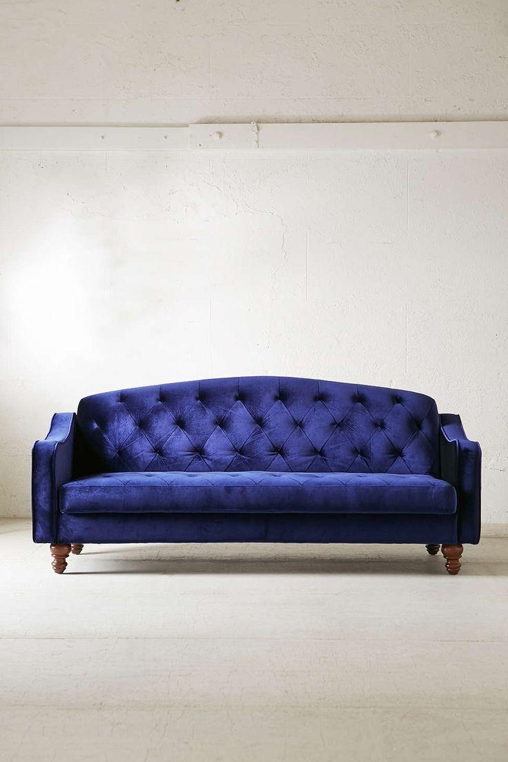 Purple Velvet Sleeper Sofa | Tehranmix Decoration Regarding Ava Velvet Tufted Sleeper Sofas (View 5 of 20)