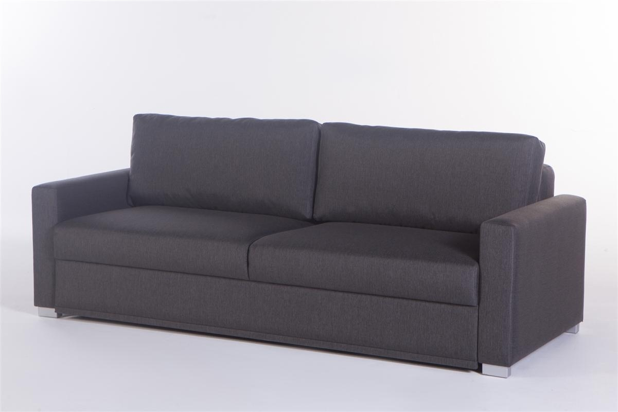 Queen Convertible Sofa Bed In Silverado Chocolateistikbal With Regard To Queen Convertible Sofas (View 4 of 20)