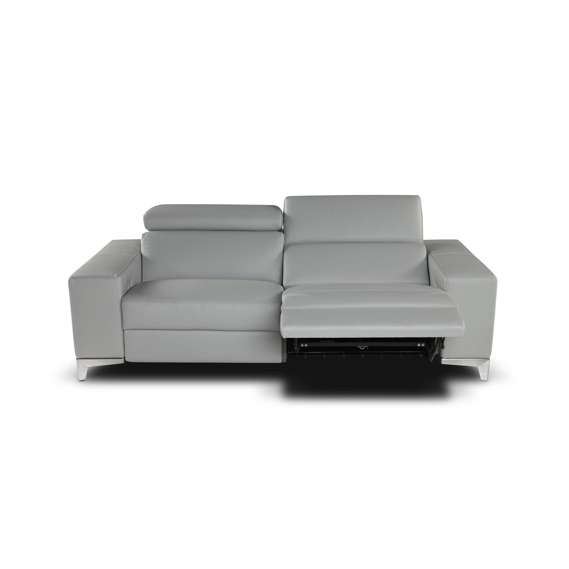 Queen Leather Sofa Set | Giuseppe&giuseppe For Italian Recliner Sofas (Image 14 of 20)