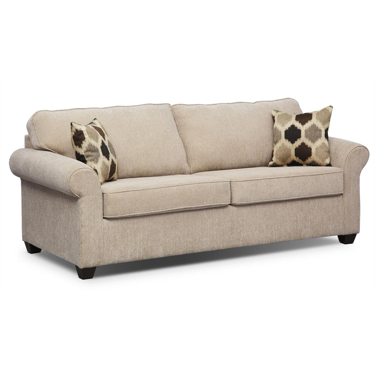 Queen Size Sleeper Sofa – Interior Design With Regard To Queen Convertible Sofas (Image 11 of 20)