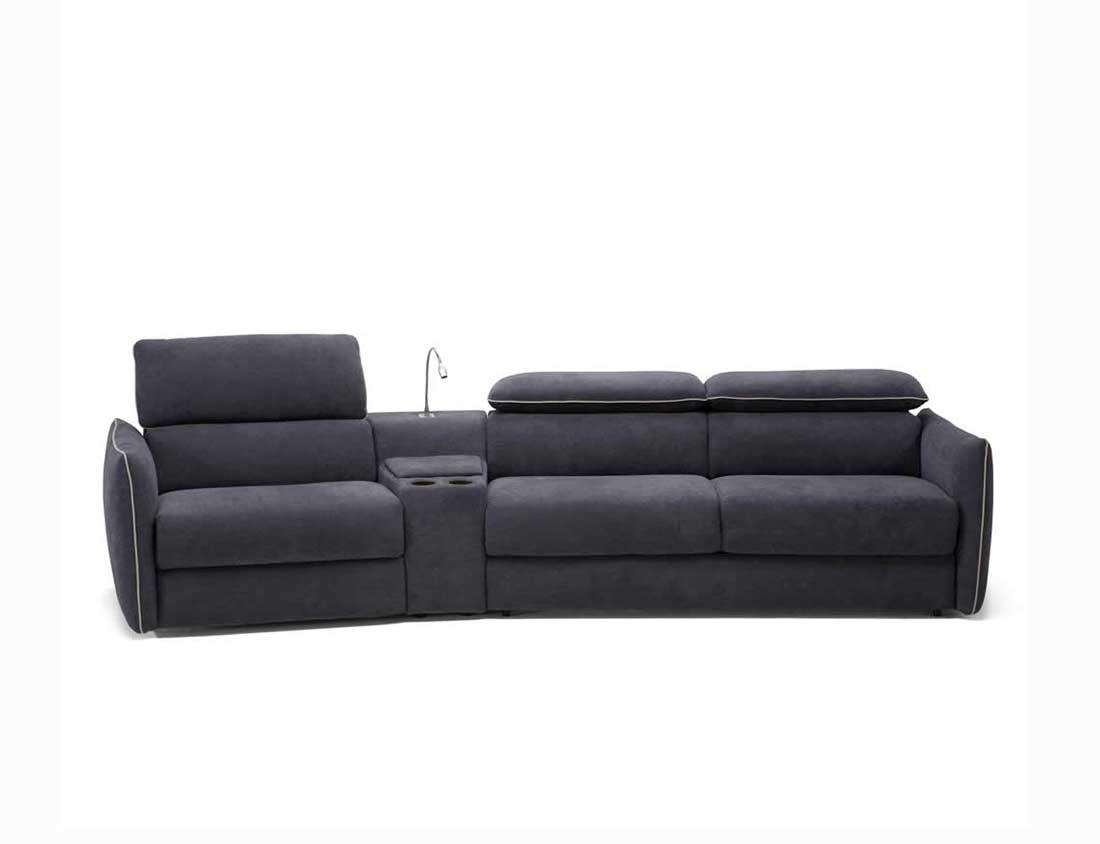 Queen Sleeper Sofanatuzzi B883 | Natuzzi Sofabeds with Natuzzi Sleeper Sofas