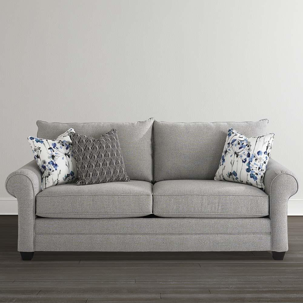 Queen Sofa Sleeper | Living Room | Bassett Furniture For Queen Convertible Sofas (Image 12 of 20)