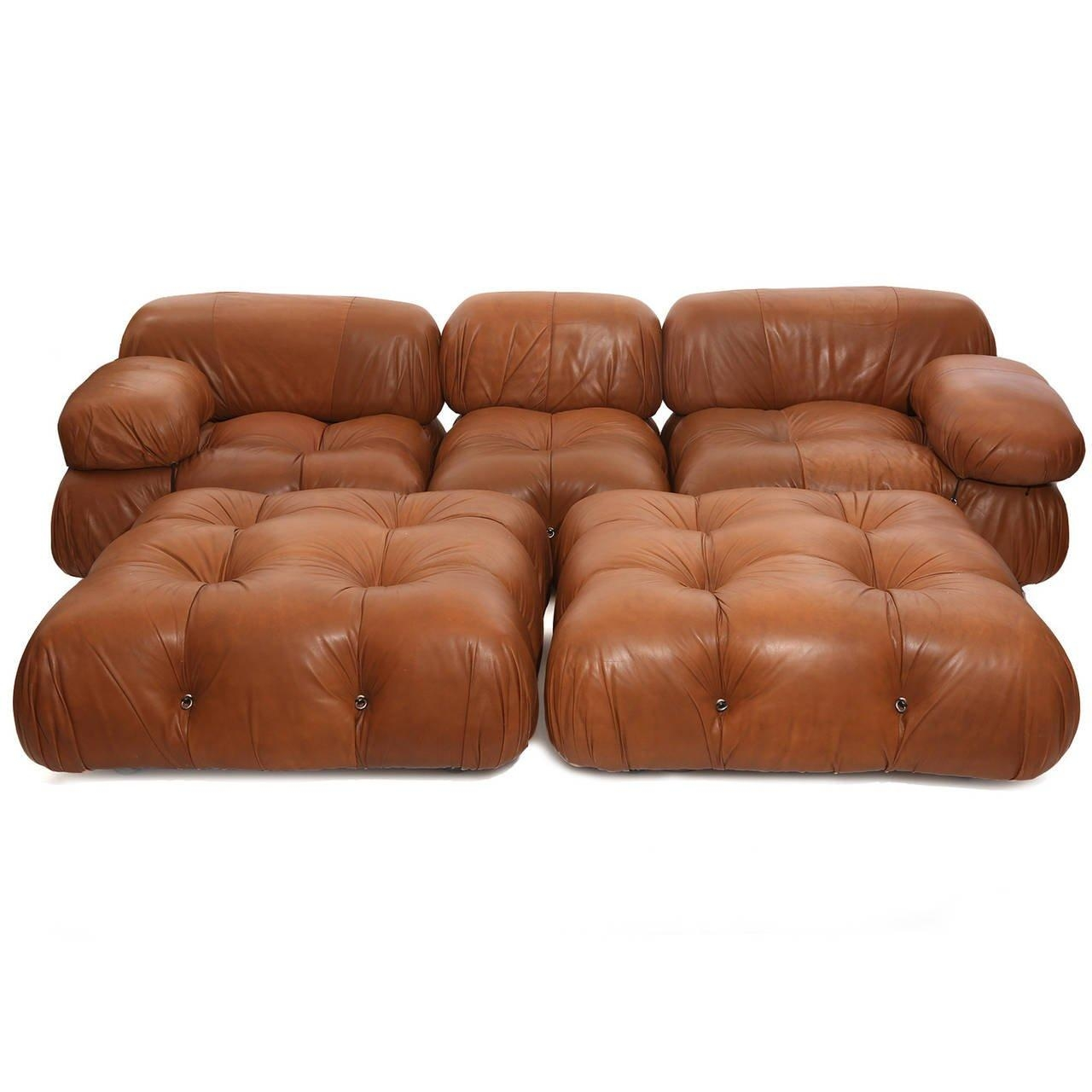 Rare Mario Bellini Camaleonda Sofa And Ottomans At 1Stdibs Pertaining To Bellini Sofas (Image 15 of 20)