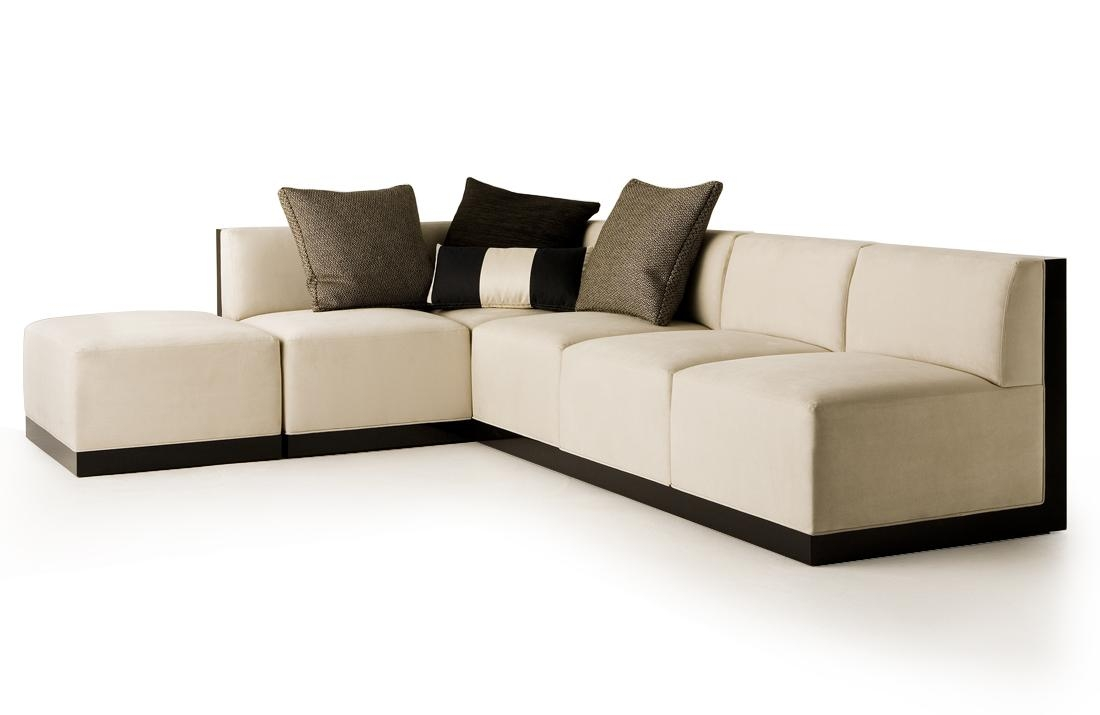 Rattan 3 Seater Modular Sofa — Liberty Interior : How Ot Make A In Small Modular Sofas (View 6 of 20)
