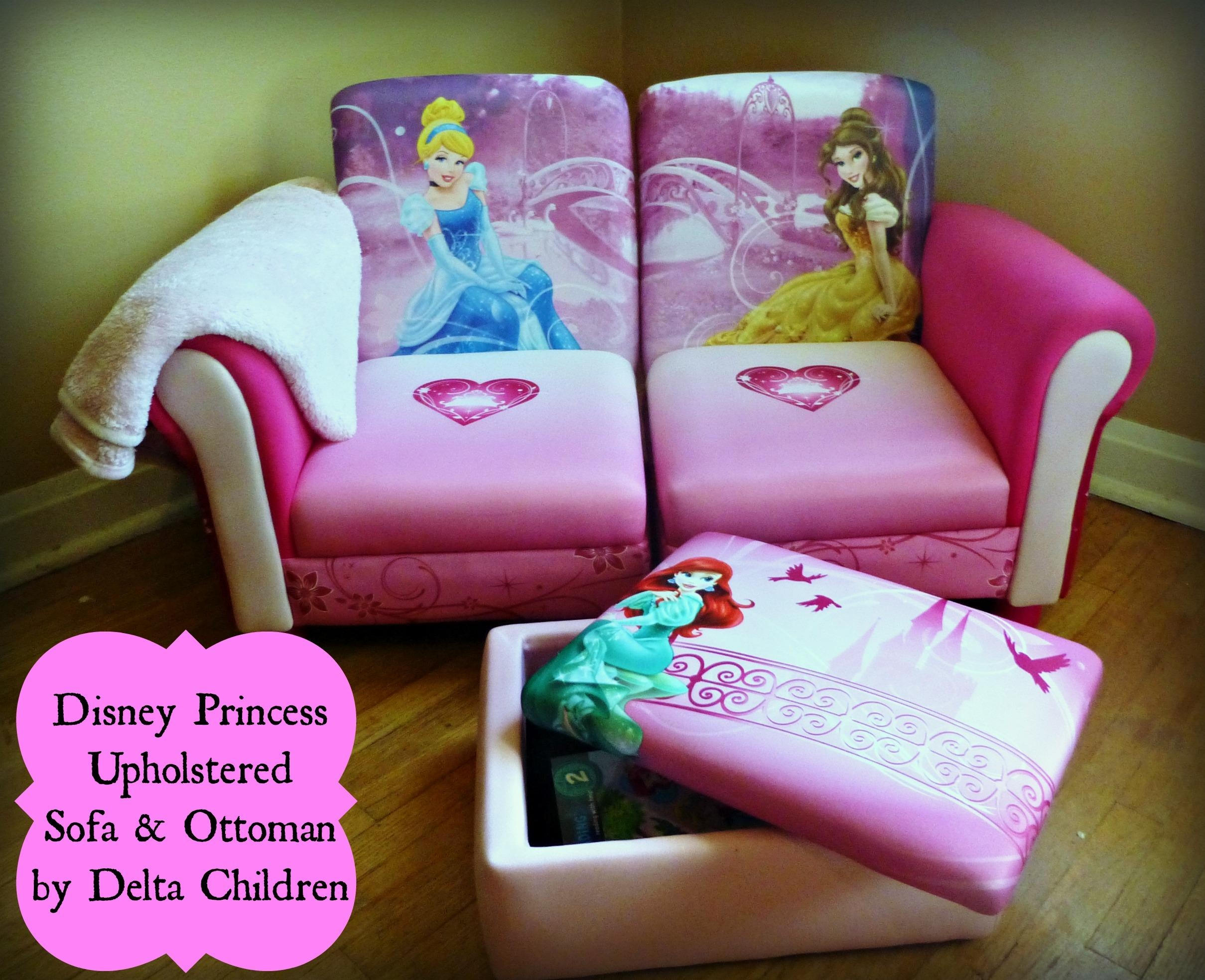 Reading Area Fit For A Princess Pertaining To Disney Princess Couches (View 9 of 20)