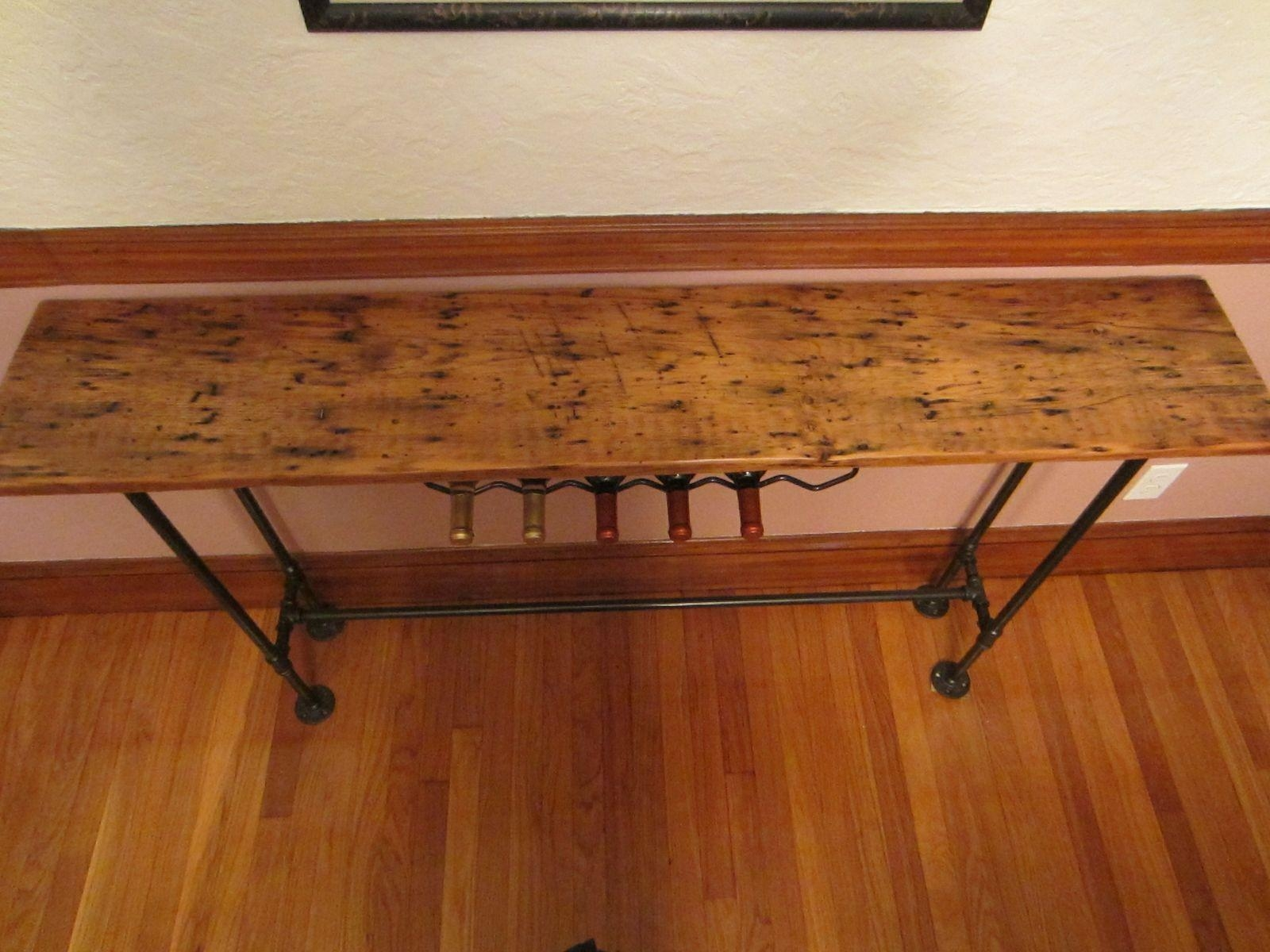Reclaimed Wood Furniture And Barnwood Furniture | Custommade Throughout Barnwood Sofa Tables (View 15 of 20)