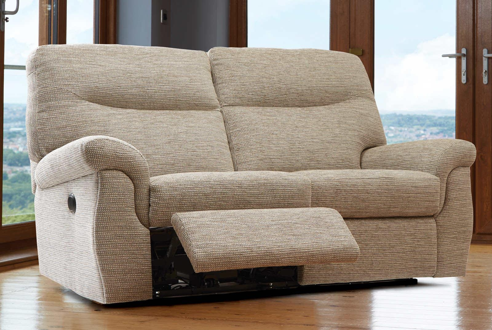 Recliner 2 Seater Sofa – Leather Sectional Sofa Inside 2 Seat Recliner Sofas (Image 8 of 20)
