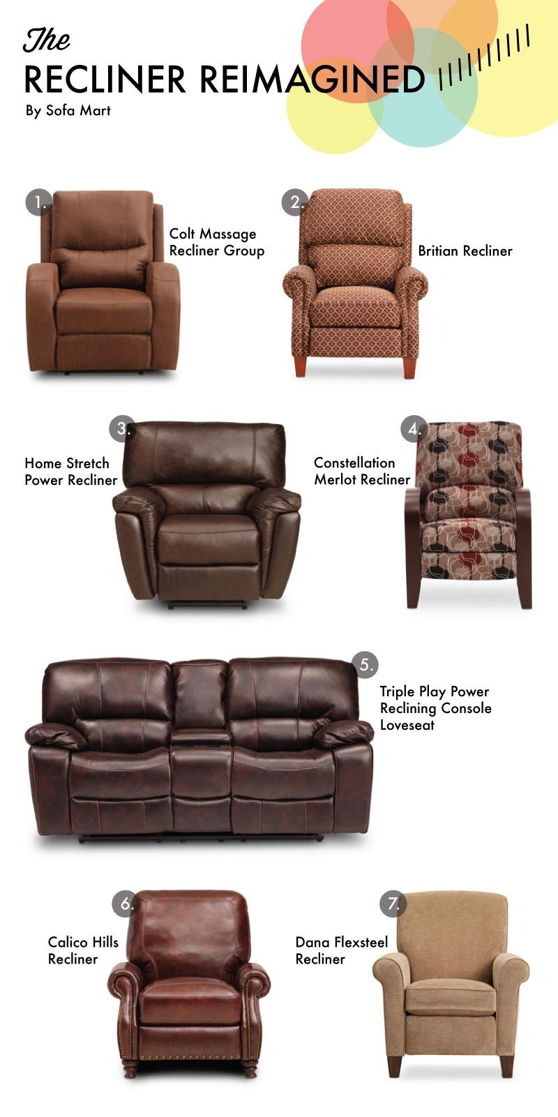 Recliner Reimagined For Father's Day – Sofa Mart For The Front Door Throughout Sofa Mart Chairs (View 17 of 20)