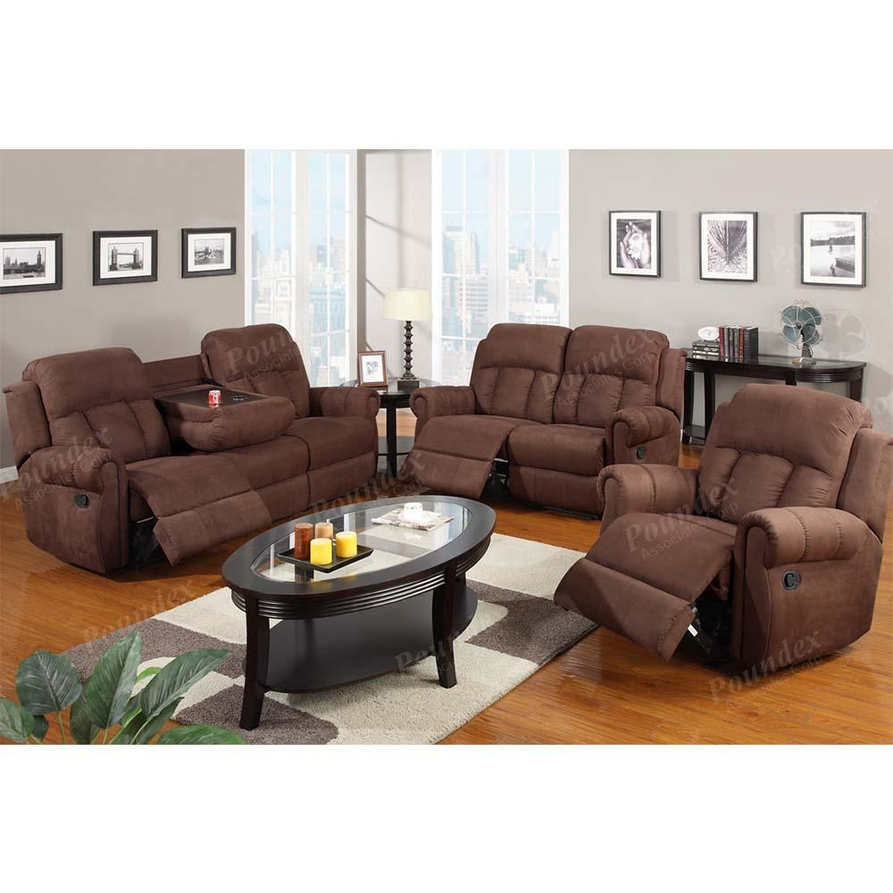 Recliner Sofa W (View 10 of 20)