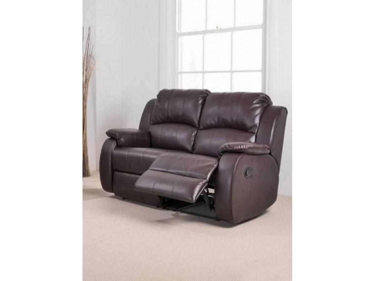 Recliner Two Seater Sofa ~ Hmmi With 2 Seater Recliner Leather Sofas (Image 13 of 20)