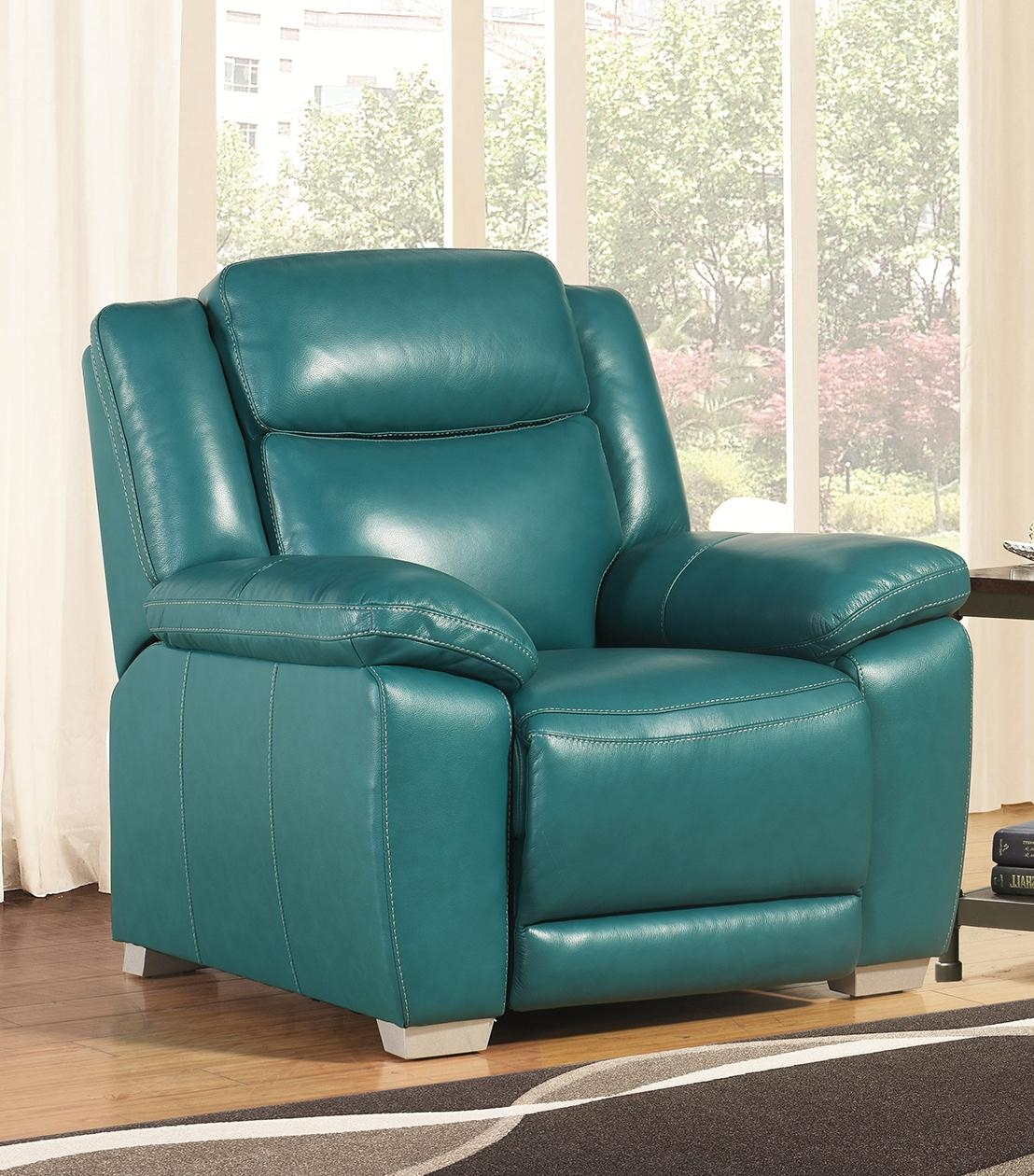 Recliners : Layla Leather Push Back Recliner Pertaining To Abbyson Recliners (View 19 of 20)