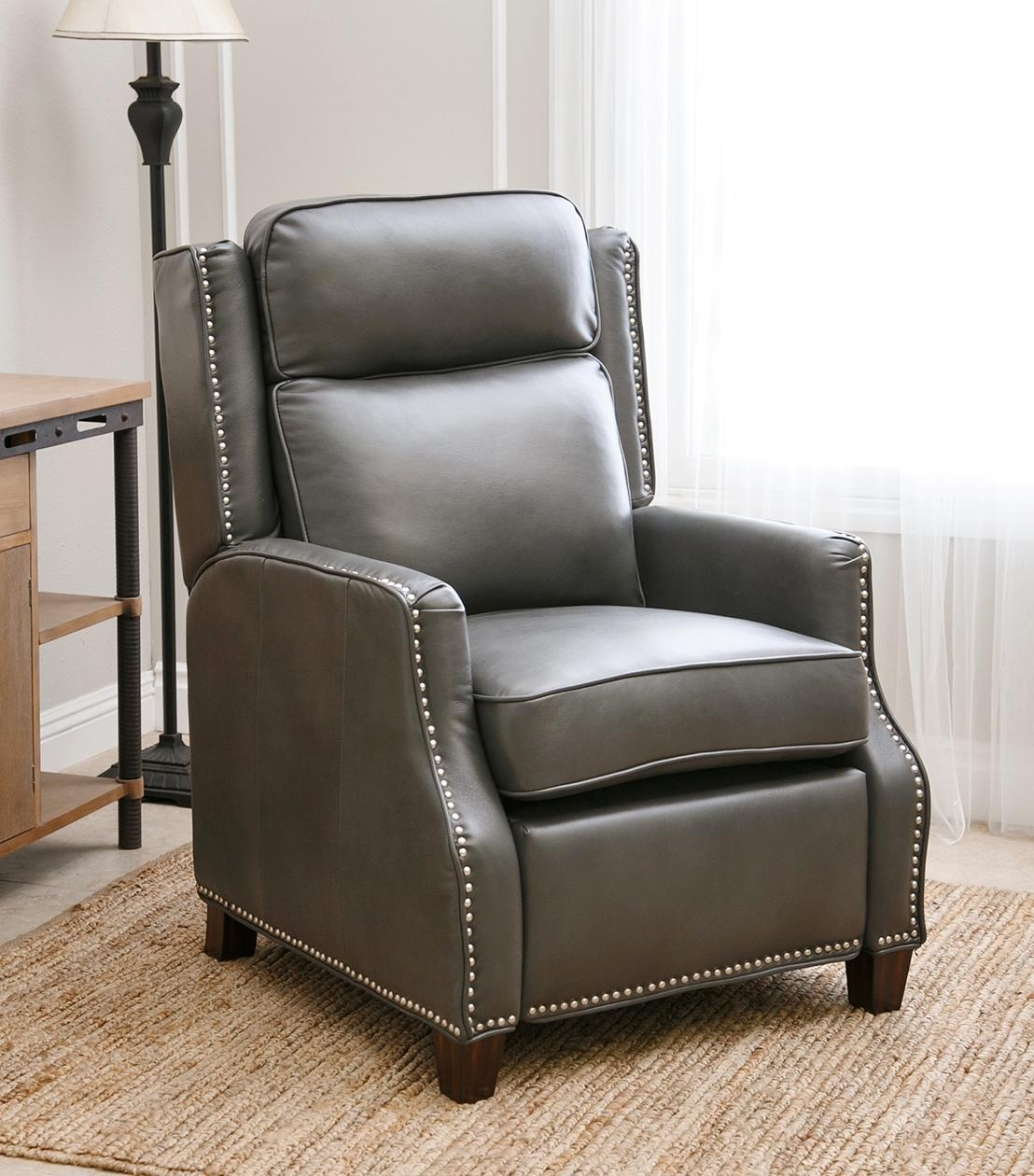 Recliners : Richfield Leather Recliner Within Abbyson Recliners (Image 14 of 20)