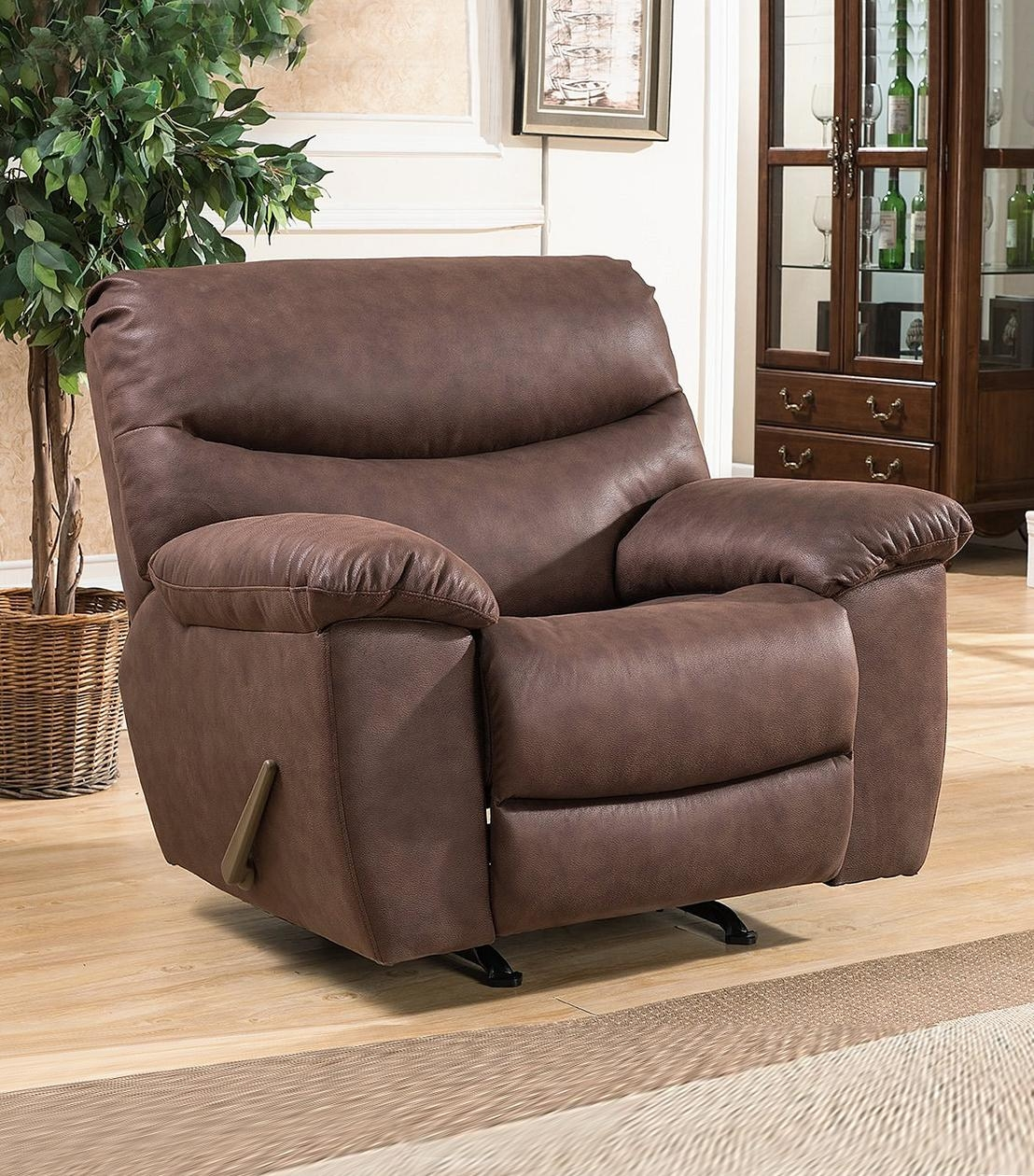 Recliners : Tyler Charging Station Recliner For Abbyson Recliners (View 20 of 20)