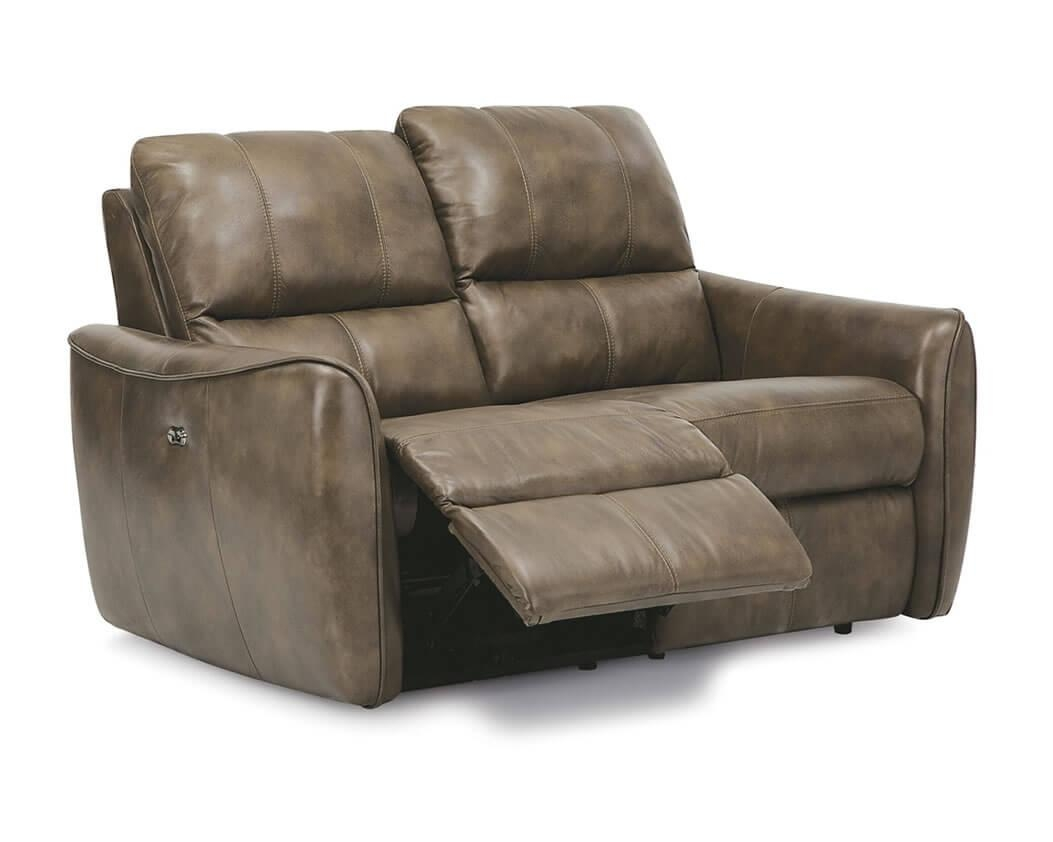 Reclining Leather Sofas | Michigan's Best | Be Seated Leather In 2 Seater Recliner Leather Sofas (Image 15 of 20)
