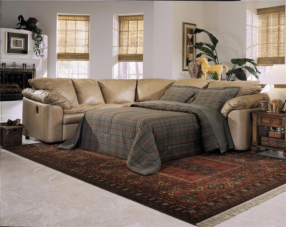 Featured Photo of Sleeper Recliner Sectional