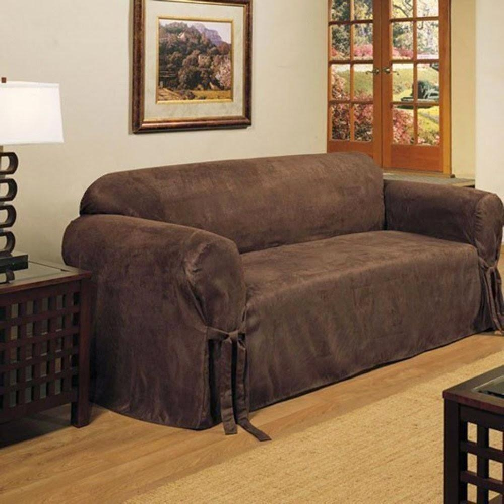 Reclining Sofa Slipcover In Slipcover For Recliner Sofas (View 7 of 20)