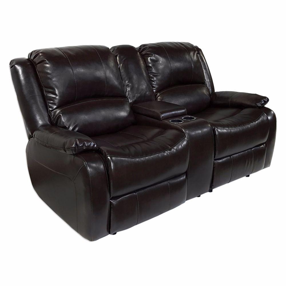 "Recpro™ Charles 67"" Double Rv Zero Wall Hugger Recliner Sofa W In Rv Recliner Sofas (Image 12 of 20)"