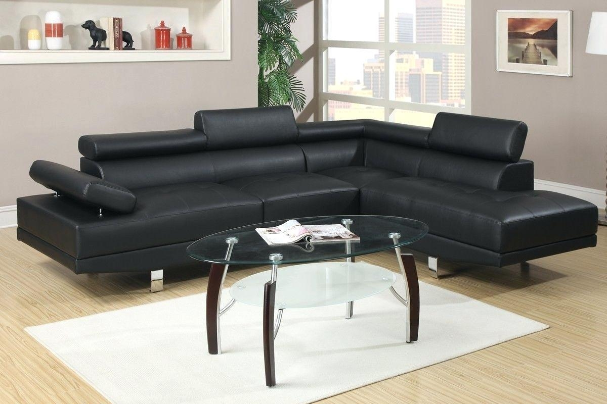 Red And White Leather Sofa Inspiring Cheap Black Sectional Sofas For Cheap Black Sofas (Image 13 of 20)