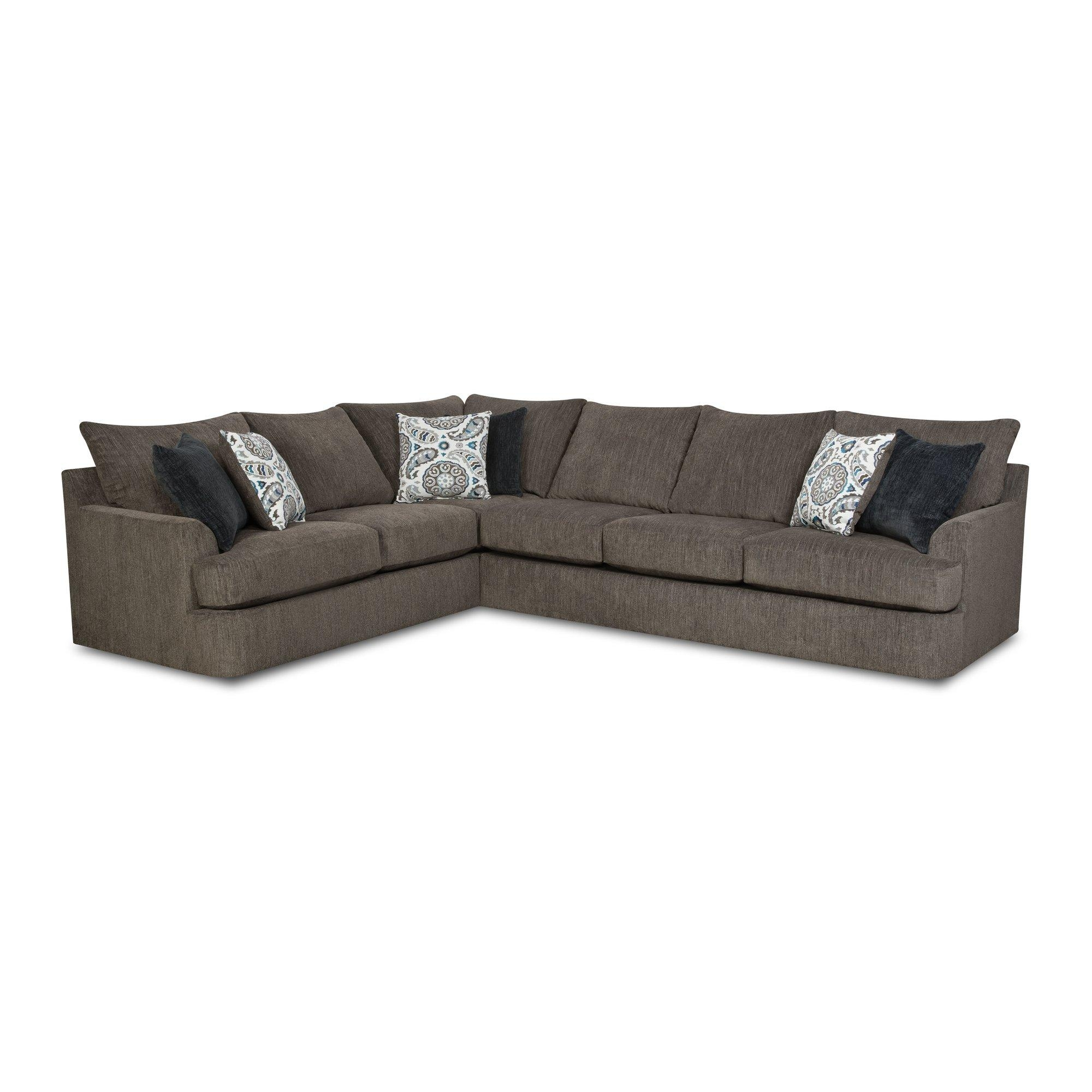 Red Barrel Studio Simmons Sectional & Reviews | Wayfair Supply Throughout Simmons Sectional Sofas (Image 3 of 20)