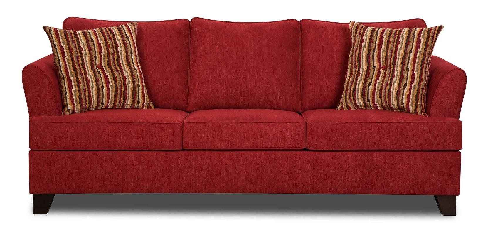 Featured Photo of Red Sleeper Sofa