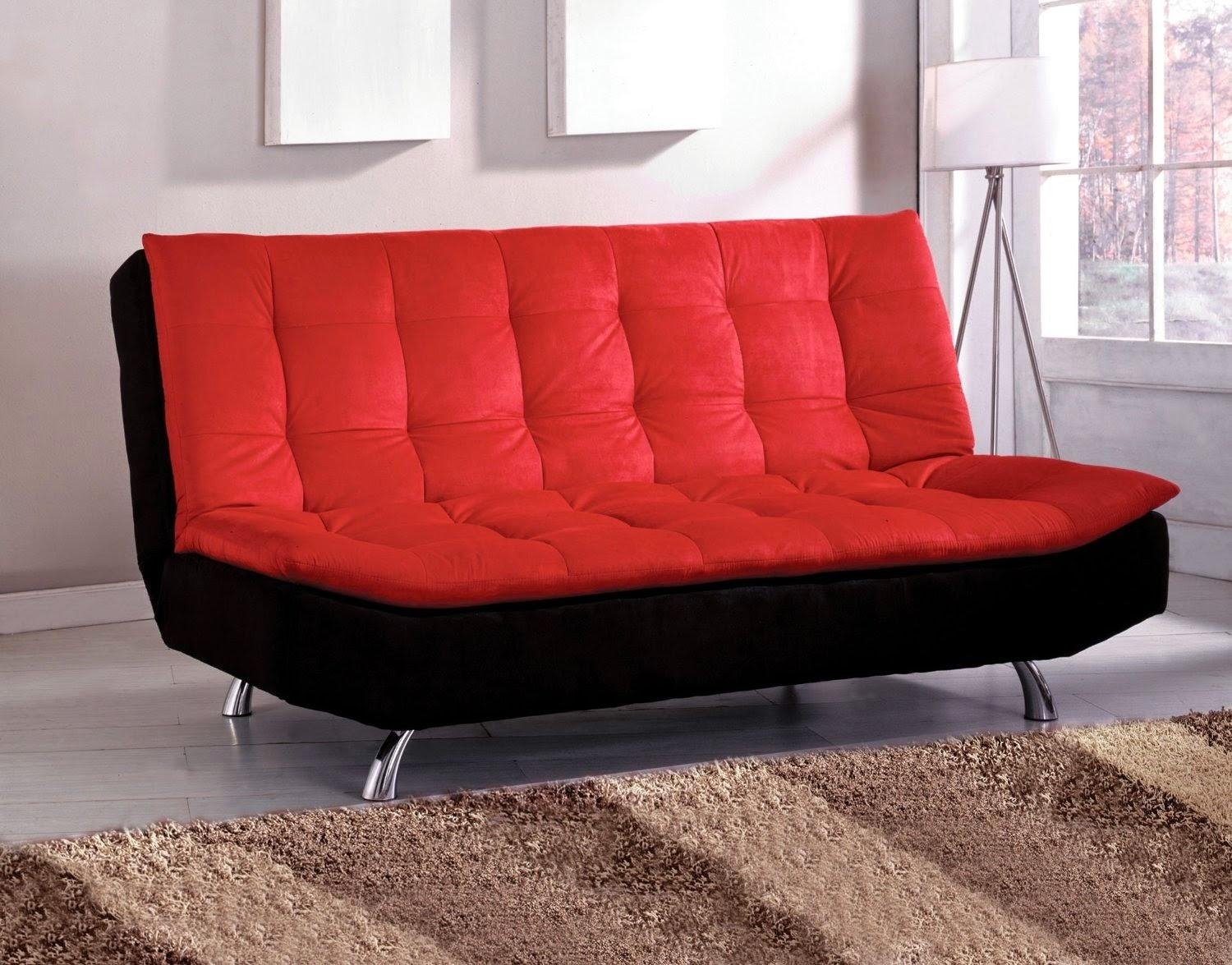 Red Couches: Red And Black Couches With Sofa Red And Black (Image 12 of 20)
