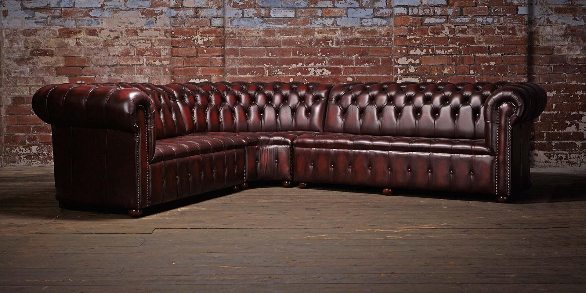 Red Leather Chesterfield Sofa | Sofa Gallery | Kengire Inside Red Leather Chesterfield Sofas (Image 9 of 20)