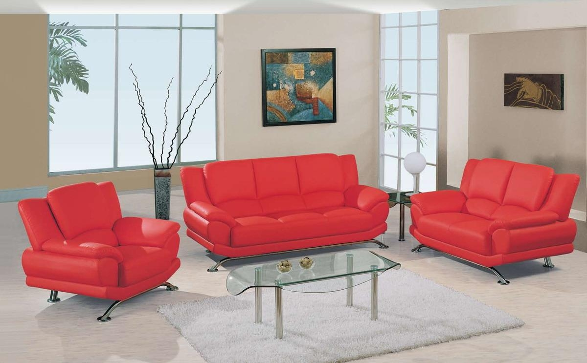 Red Living Room Set Living Room Design And Living Room Ideas With Regard To Red Sofas And Chairs (Image 11 of 20)