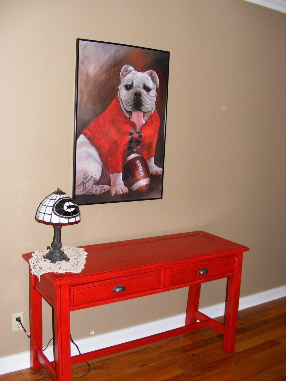 Red Sofa Table | Sofa Gallery | Kengire With Red Sofa Tables (Image 10 of 20)