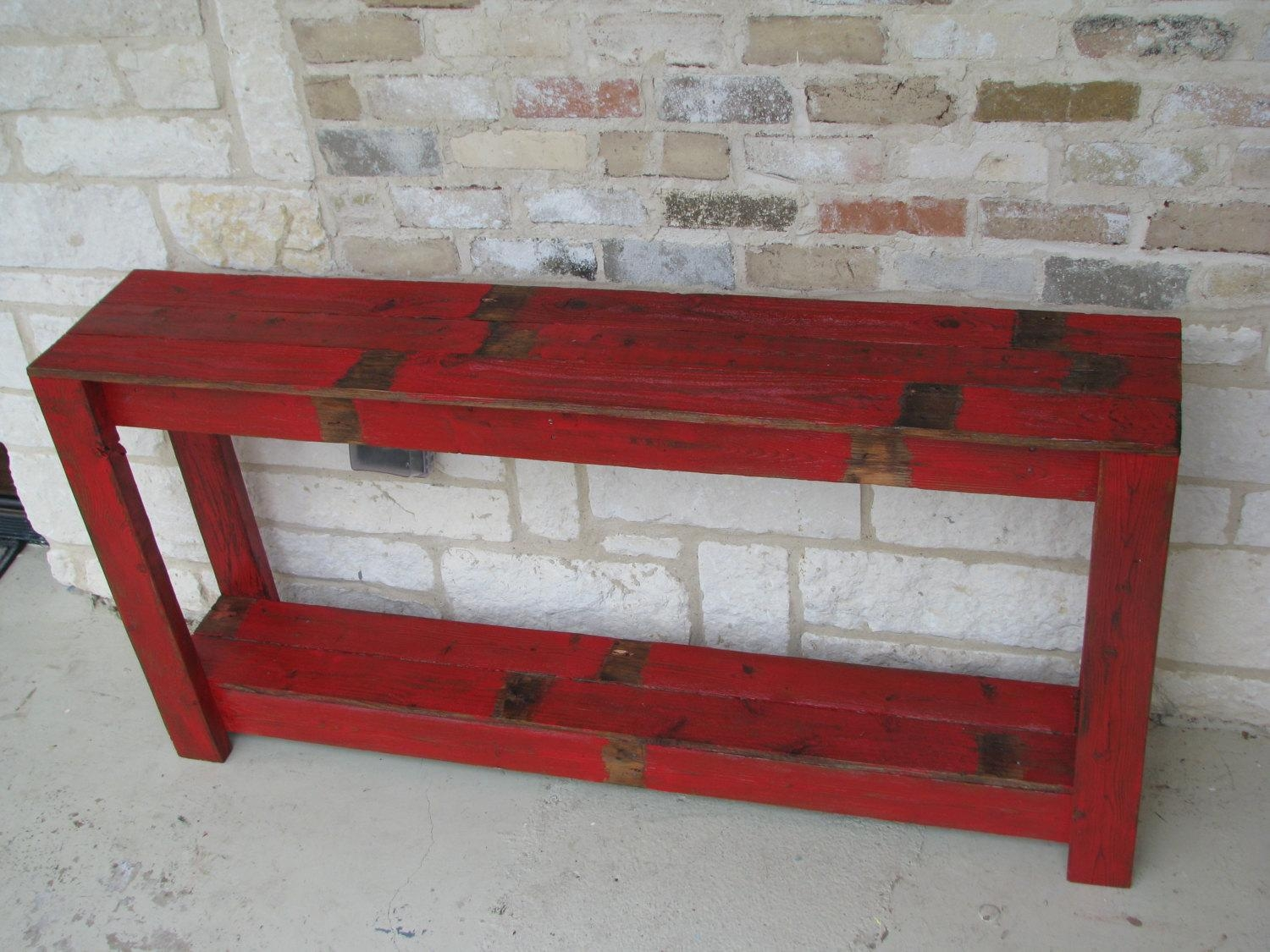 Red Sofa Table | Tehranmix Decoration Regarding Red Sofa Tables (Image 11 of 20)